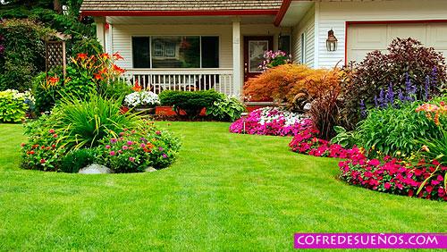 soñar con jardin