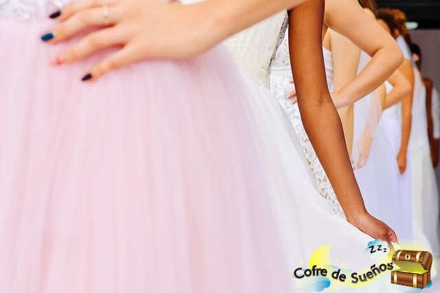 soñar con mujer vestida de novia