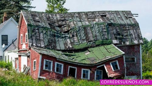 sonar que tu casa se derrumba