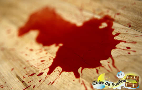 Soñar con manchas de sangre